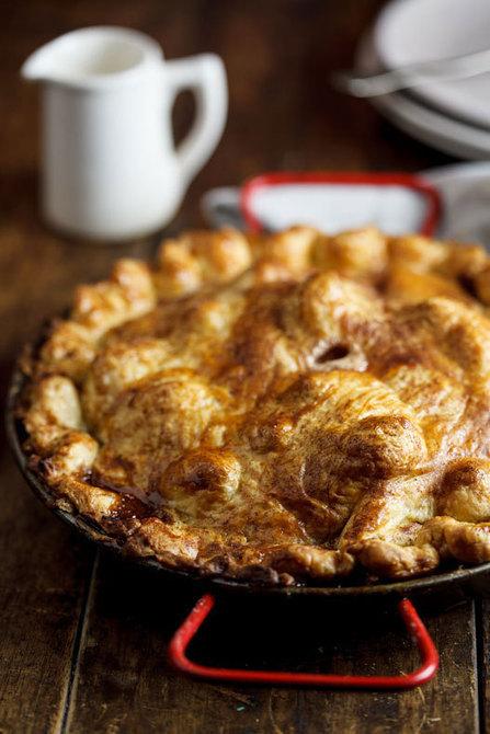 #Recipe / Apple pie with salted caramel | Food | Scoop.it