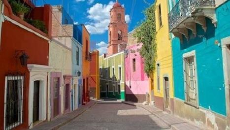 Les maisons colorées de Guanajuato   I love it !   Scoop.it