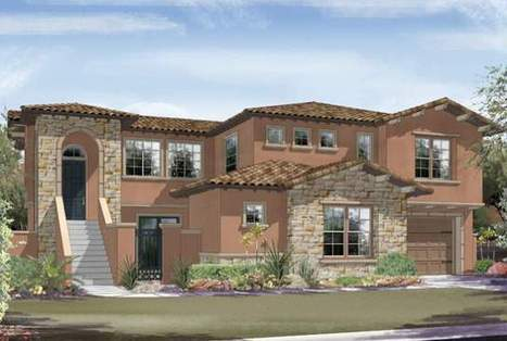 Summerlin villages The Paseos, The Mesa add new homes   Northwest Las Vegas Real Estate   Scoop.it