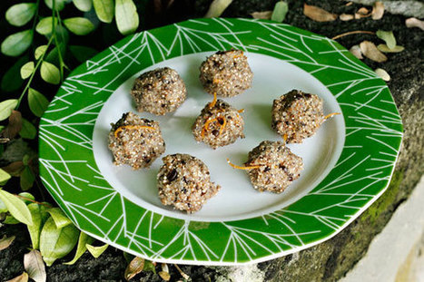 No-bake Quinoa Coffee Energy Bites Recipe   Vegan Food   Scoop.it