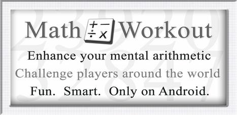 Math Workout - Android Market | Applying tech integration | Scoop.it