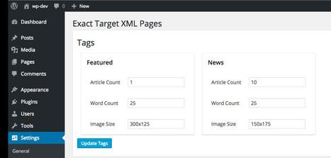 Customizable XML Feeds [WordPress plugin] | RSS Circus : veille stratégique, intelligence économique, curation, publication, Web 2.0 | Scoop.it