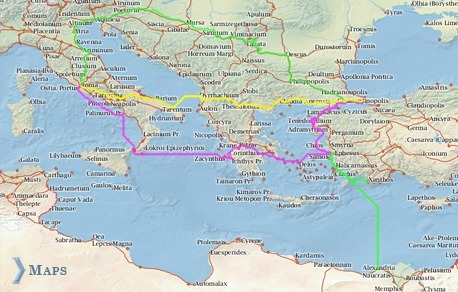 ORBIS: Model of the Roman World | CLIL and ICT Resource Pool | Scoop.it