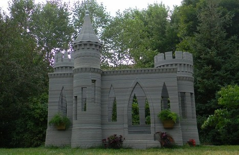 This Man 3D Printed an Entire Castle | Strange days indeed... | Scoop.it