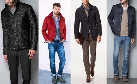Quilted Jackets Men Fall-Winter 2012-13 trends ~ Men Chic- Men's Fashion and Lifestyle Online Magazine | Fashion for all man kind | Scoop.it
