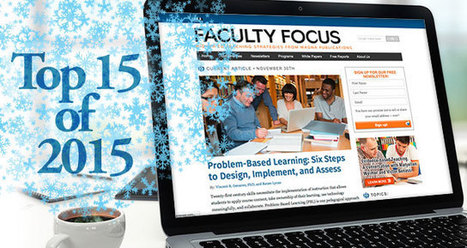 Faculty Focus: Top 15 Teaching and Learning Articles of 2015 | Notebook | Scoop.it