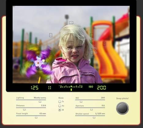 Comprendre le maniement d'un appareil photo et la profondeur de champs | Technologie Au Quotidien | Scoop.it