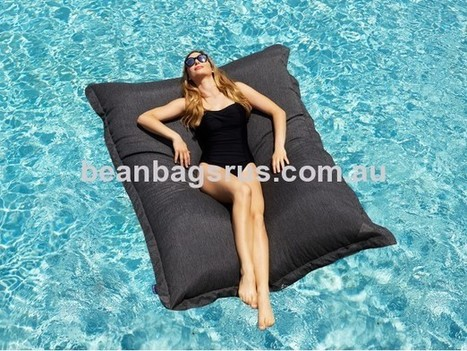 King Kong Pool Bean Bag Charcoal   Bean Bags R Us   Bean Bags   Scoop.it