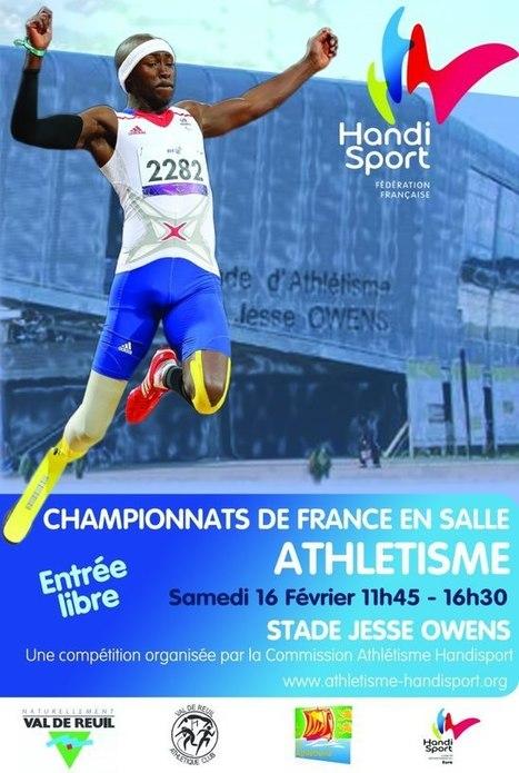 Rendez-vous à Val de Reuil pour le Championnat Handisport au stade Jesse Owens - Accueil - eureasso.fr | Dans la CASE & Alentours | Scoop.it