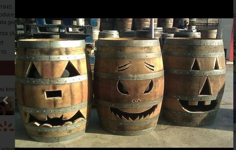 Who needs pumpkins when you're a vigneron... | Quirky wine & spirit articles from VINGLISH | Scoop.it