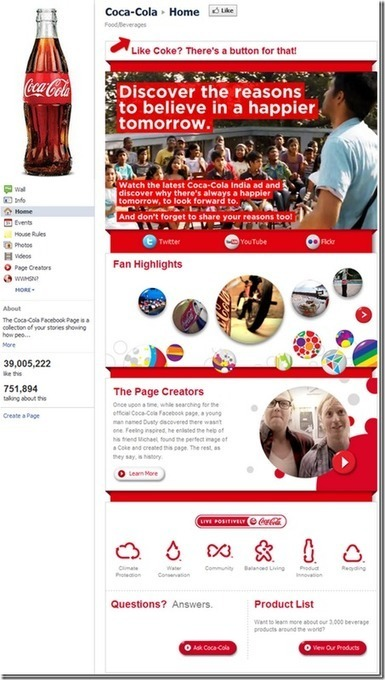 Facebook Fan Page Design | Having Fun with Web Design & Blogging | Scoop.it