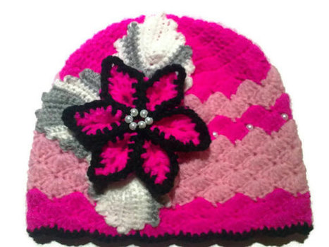 Crochet Handmade Hat and Scarf Set , Warm Hat for Girls, Christmas Gift Idea | Crochet Miracles Shop on Etsy | Scoop.it