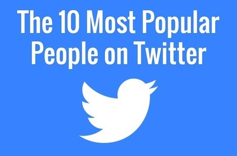 The 10 Most Popular People on Twitter [STATS] | MarketingHits | Scoop.it