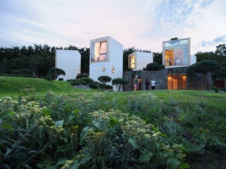 [inspiration] Une maison en cubes remporte le Prix du jury Archinovo   Eco-Habitat   Scoop.it