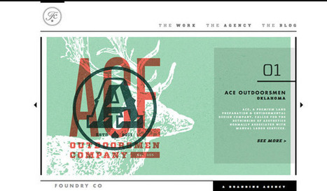25 Beautiful Examples of Illustration in Web Design | Design Revolution | Scoop.it