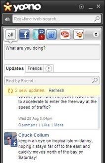Yoono Desktop : simplifier l'usage de vos réseaux sociaux - Génération NT | Geeks | Scoop.it