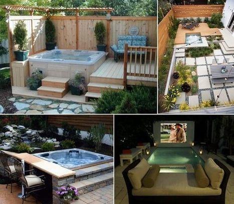 20 Relaxing Outdoor Jacuzzi Ideas You Will Admire | Amazing interior design | Scoop.it