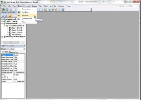 Excel: Créer automatiquement la liste des noms d'onglet d'un fichier   Blogue Modelcom   Modélisation financière   Scoop.it