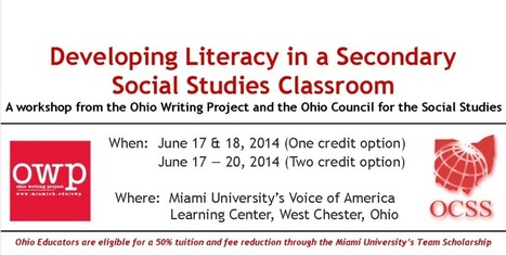 Developing Literacy in a Secondary Social Studies Classroom | History and Social Studies in the Classroom | Scoop.it