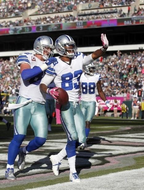 Jerry Jones: Tony Romo says Terrance Williams is exceeding expectations | Fantasy football | Scoop.it