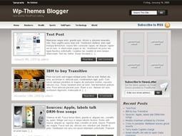Blogger Theme | Blogger themes | Scoop.it