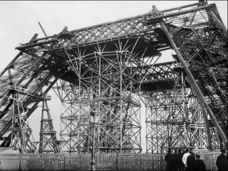 Histoire de la construction de la Tour Eiffel | Un Jour de plus à Paris | Paris, son histoire | Scoop.it