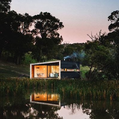 Pump House by Branch Studio Architects is a metal-clad lakeside cabin | innovation urbaine | Scoop.it