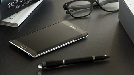 """سامسونج تكشف عن هاتفها اللوحي """"جالاكسي نوت إيدج"""" بشاشة منحنية   4tecme   Scoop.it"""