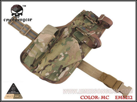 Emerson Gear MP7 Leg Holster at YZH | Popular Airsoft | Airsoft Showoffs | Scoop.it