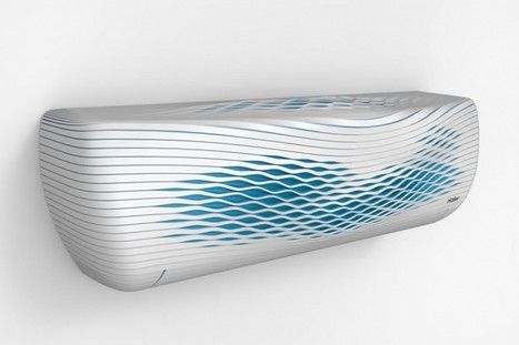3D-Printed Air Conditioner | Haier | Architecture, Design, Art, Technology | Scoop.it