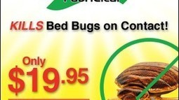 Fabriclear Spray Kills Bed Bug On Contact | As Seen On TV Marketplace | Bed Bugs | Scoop.it