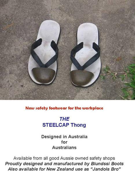 The Steel Cap Thong | steelcap thongs | Scoop.it