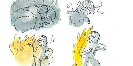 La « jungle » de Calais en BD : un homme brûle… | La bande dessinée FLE | Scoop.it