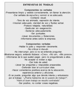 HABILIDADES PARA UNA ENTREVISTA DE TRABAJO  | Cursos educacion, trabajo social, integracion social | Scoop.it