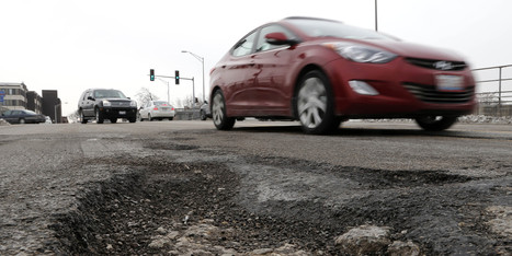 Why It Looks Like Everyone In Chicago Is Driving Drunk | city potholes | Scoop.it