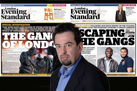Standard's David Cohen wins award for 'extraordinary' gangs campaign   SocialAction2014   Scoop.it