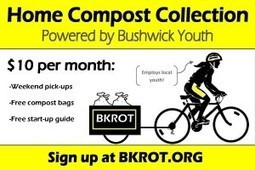 BKROT Makes Composting Easy, Supports Bushwick's Urban Farms | Vertical Farm - Food Factory | Scoop.it