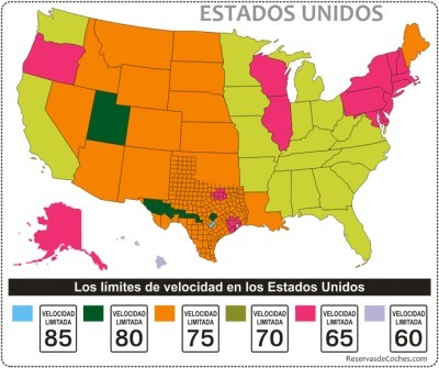 Limites de velocidad en Estados Unidos | Ruta 66 | Scoop.it