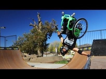 Wheelchair Freestyle - Wheelz - Gnarly! | Baseball | Scoop.it