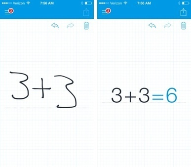 Daily App: MyScript Calculator solves your hand-written math equations | Leadership Think Tank | Scoop.it
