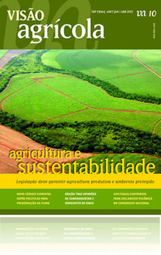 """Agricultura e sustentabilidade"", Revista Visão Agrícola - USP -ESALQ. | Geoflorestas | Scoop.it"