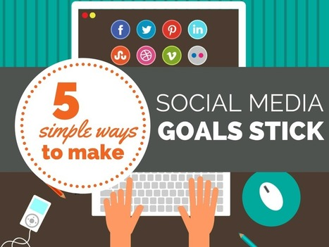 5 Simple Ways to Make Your Social Media Goals Stick | Politically Incorrect | Scoop.it