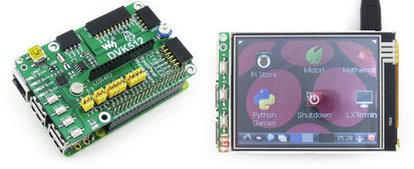 Waveshare DVK512 Kits For Raspberry Pi Model B+ Include RTC, Sensors, LCD Display, and More | Embedded Systems News | Scoop.it