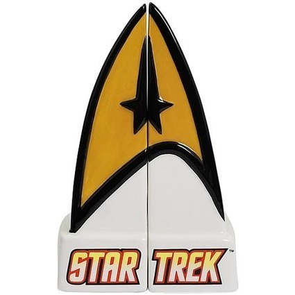 Gadget Innovation: Star Trek Command Insignia Salt and Pepper Shakers | The Jazz of Innovation | Scoop.it