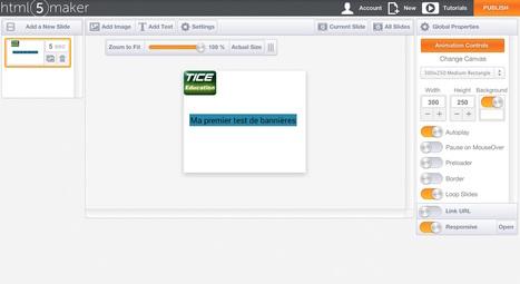 Créez des contenus interactifs en HTML5 avec HTML5 Maker | Apprentissage en ligne | Scoop.it