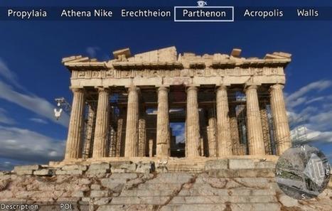 Visite virtuelle, applications mobiles … l'acropole d'Athènes se décline en version numérique   Blanc grec   Scoop.it