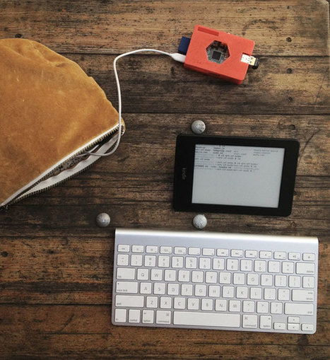 Kindleberry Wireless Combines Raspberry Pi Mini PC And Kindle Paperwhite - | Raspberry Pi | Scoop.it