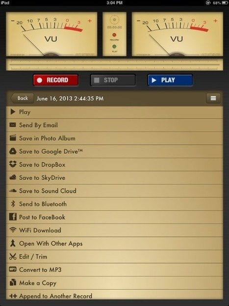 Voice Record Pro   Todoele: Herramientas y aplicaciones para ELE   Scoop.it