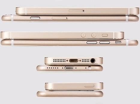 iPhone 6 to Launch on September 25, 5.5-Inch Model Named iPhone Air: Report | Applications and Mobility | Scoop.it