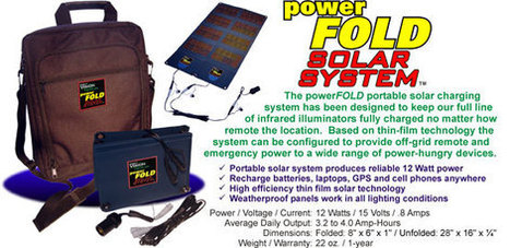 Get High Quality Powerfold Solar Systems at Affordable Price | Night Vision Experts | Scoop.it